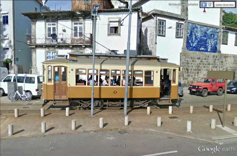 STREET VIEW : les tramways en action Porto_11