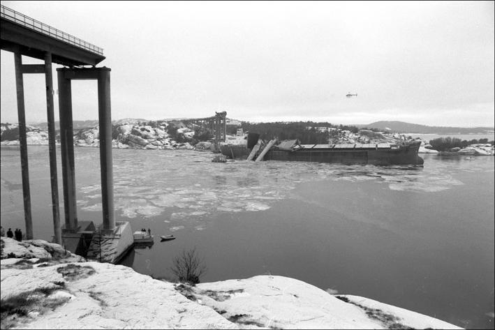 La catastrophe du pont de l'Almö en Suède (18 janvier 1980) Press311