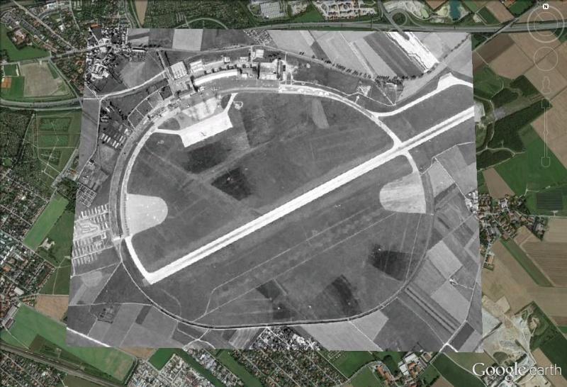La catastrophe aérienne de Munich du 6 février 1958 (Manchestrer United) Riem_g11