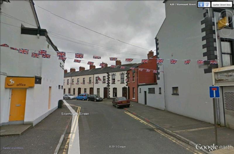 """[Royaume-Uni] - Les barrières de séparation de Belfast (""""Murs de la paix..."""") Stormo10"""