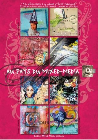 un livre en français sur le mixed-media Giveaw13