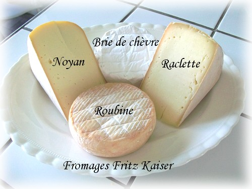 Quelques fromages Fritz Kaiser Fromag10