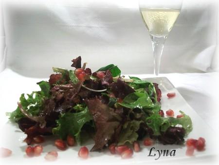 Vinaigrette à la pomme grenade Salade15