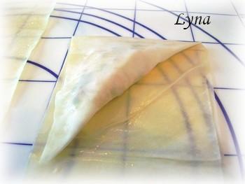 Triangles de crevettes en pâte filo Triang12