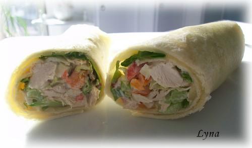 Wraps au poulet Wrap110