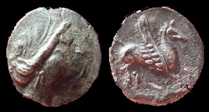 Dracma ibérico 218-195 a.C. 402n10