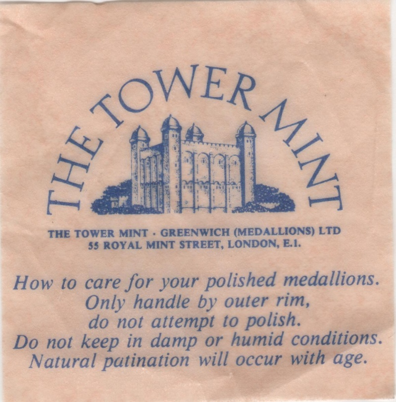 Tower Mint Collection Jean Jacques 00715