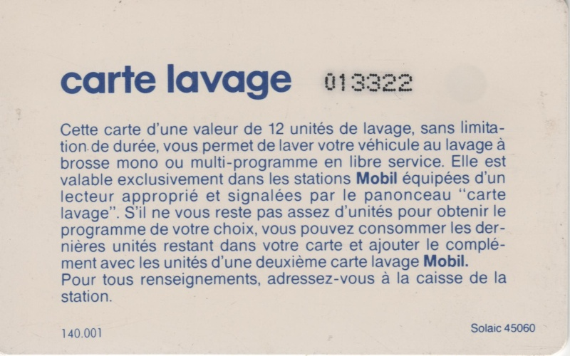 Mobil / BP (France) 00717