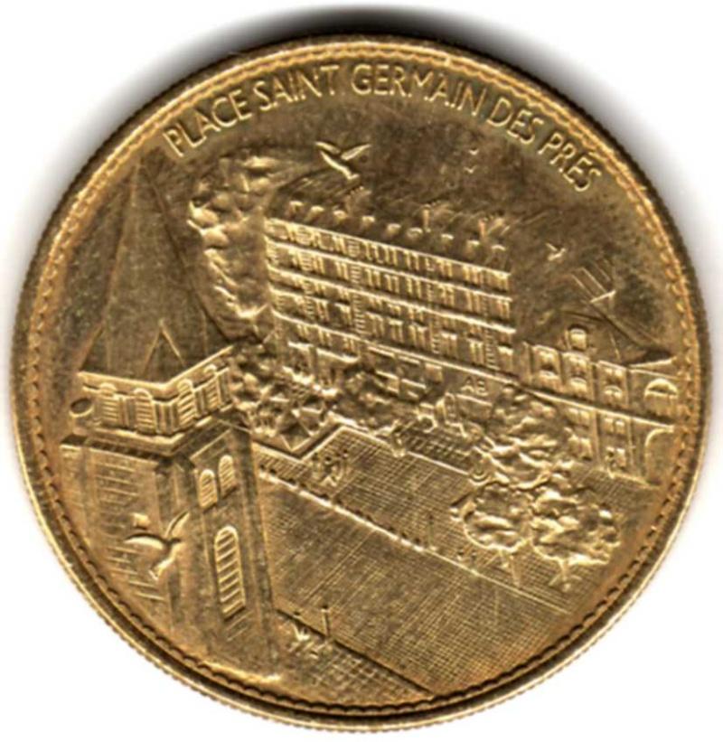 Arthus-Bertrand revers Trésors de France =  18 Pp07810
