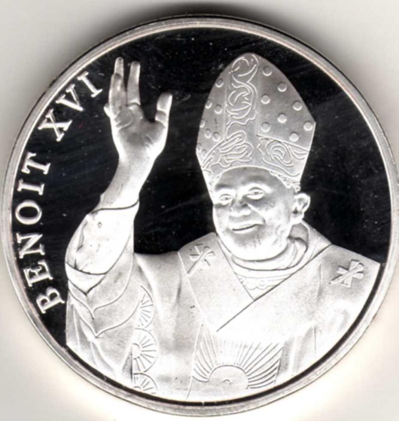 Vatican et médailles papales Pp15310
