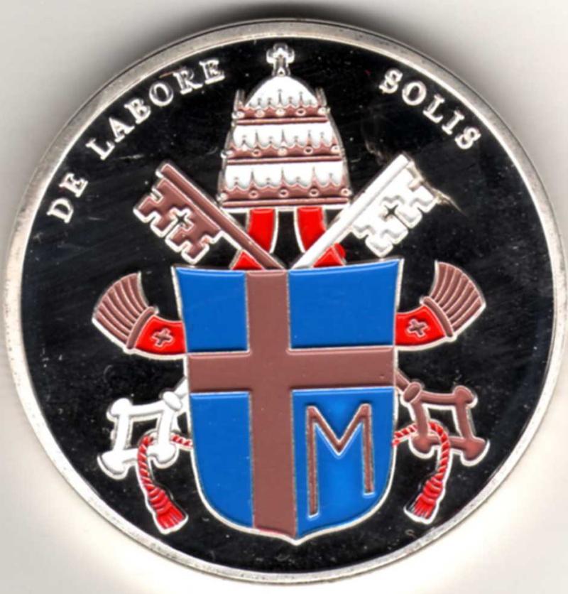 Vatican et médailles papales Pp15610