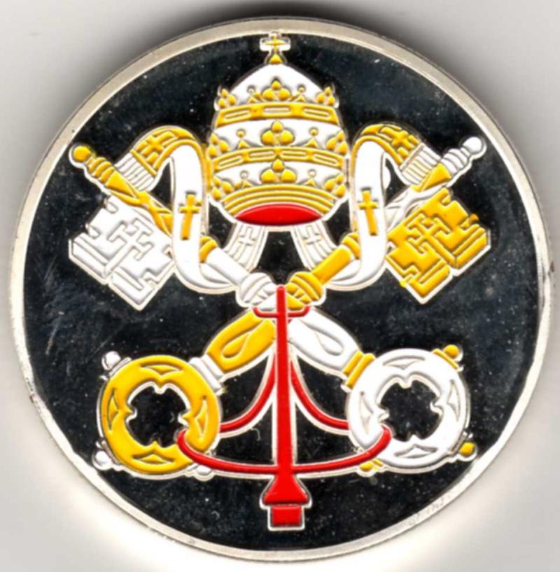 Vatican et médailles papales Pp15810