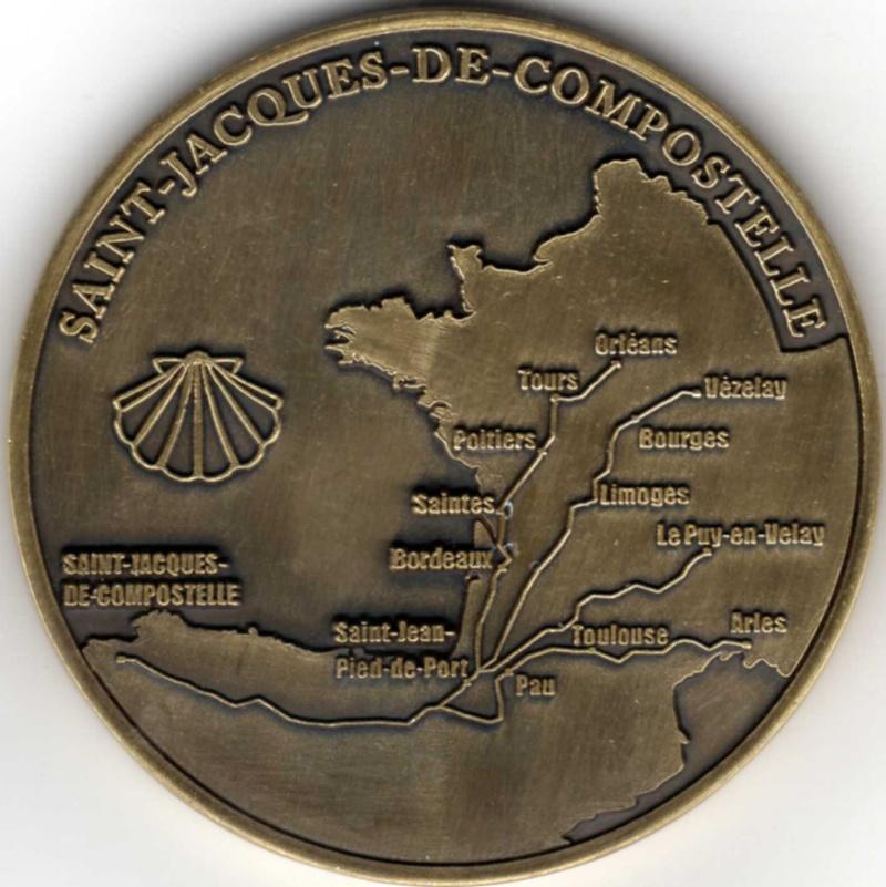 Chemins de Saint-Jacques de Compostelle W09710