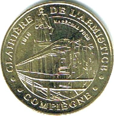 Compiègne (60200)  [Armistice UEKP / Rethondes] Z1016