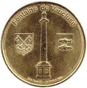 Fontaine de Vaucluse (84800)  [Vallis Clausa / UEFH] Z3011
