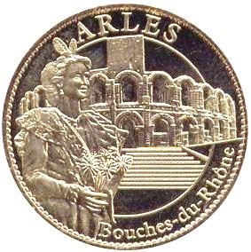 Arthus-Bertrand revers Trésors de France Z3410