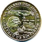 Kintzheim (67600)  [Cigoland UEJB / Montagne singes UEFL /  Volerie aigles UEFS] Z423