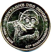 Kintzheim (67600)  [Cigoland UEJB / Montagne singes UEFL /  Volerie aigles UEFS] Z521