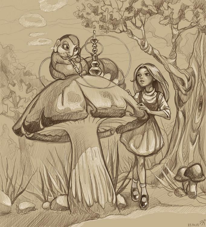 Alice nel Paese delle Meraviglie Alice10
