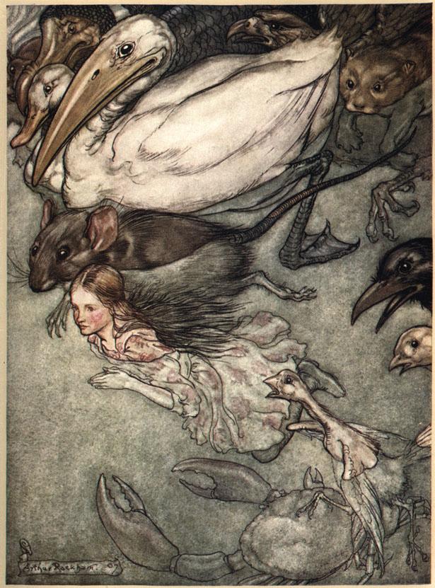 Alice nel Paese delle Meraviglie Plate110