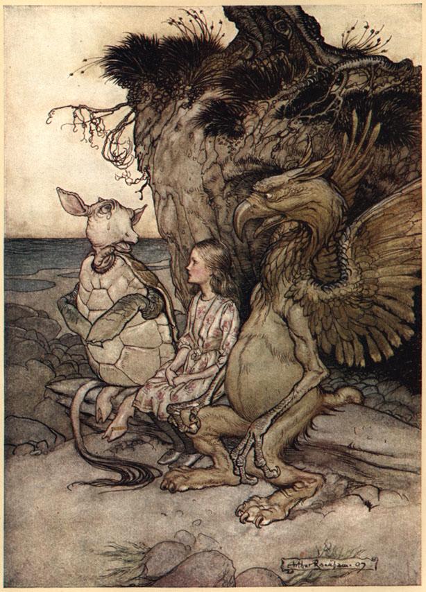 Alice nel Paese delle Meraviglie Plate111
