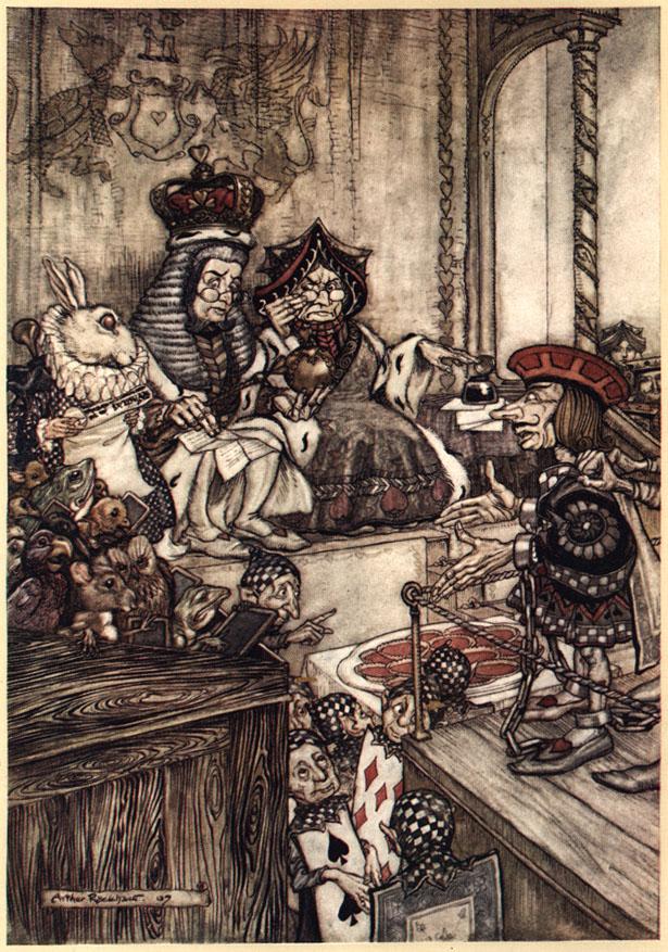 Alice nel Paese delle Meraviglie Plate112