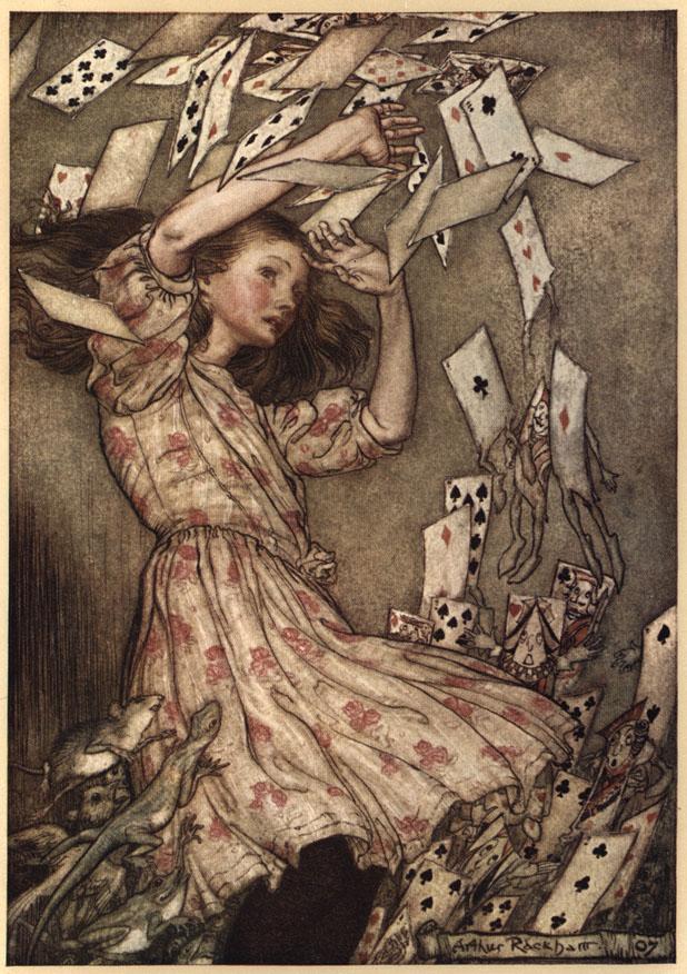 Alice nel Paese delle Meraviglie Plate113