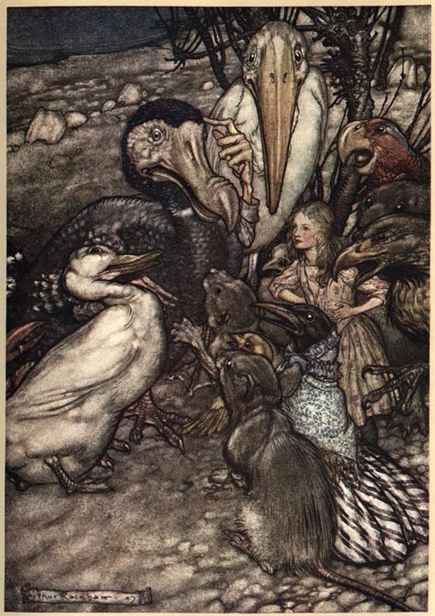 Alice nel Paese delle Meraviglie Plate210