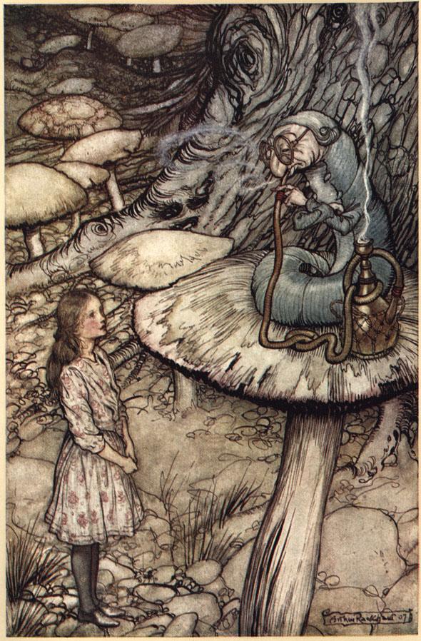 Alice nel Paese delle Meraviglie Plate410