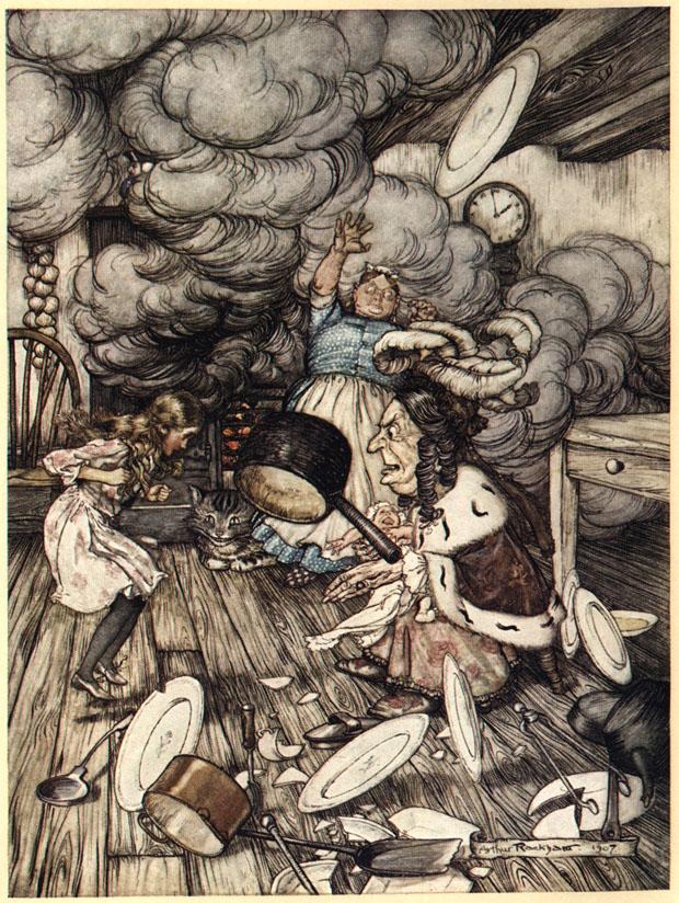 Alice nel Paese delle Meraviglie Plate510