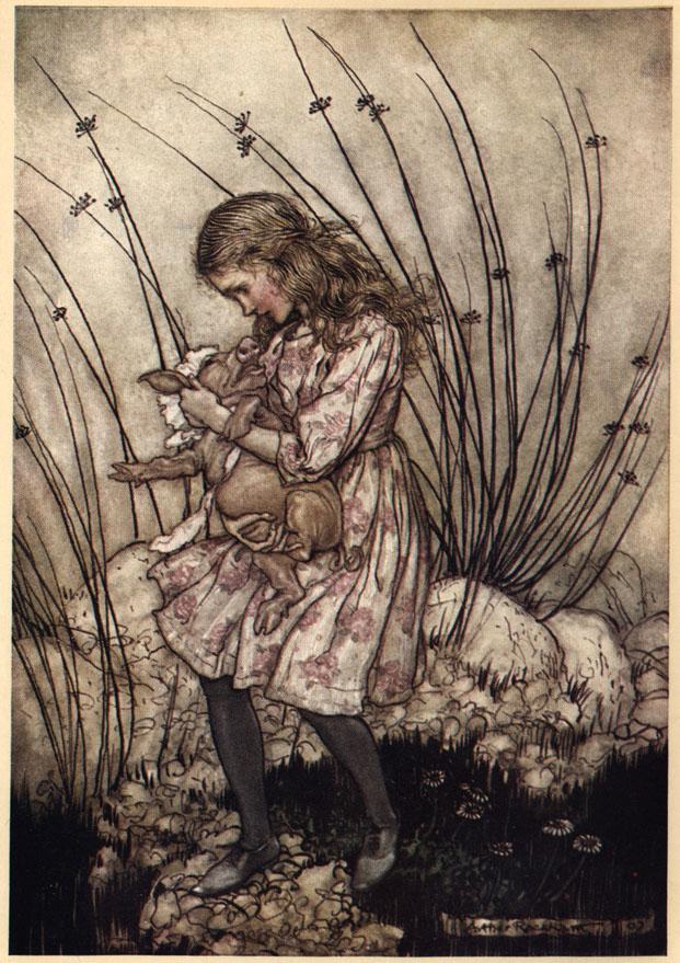 Alice nel Paese delle Meraviglie Plate610
