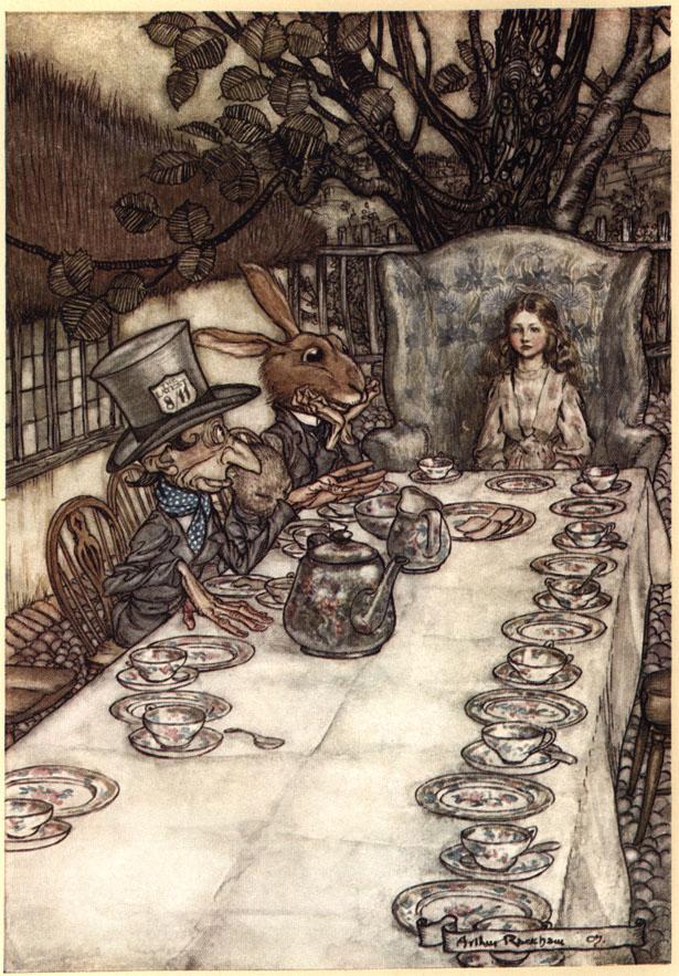 Alice nel Paese delle Meraviglie Plate710