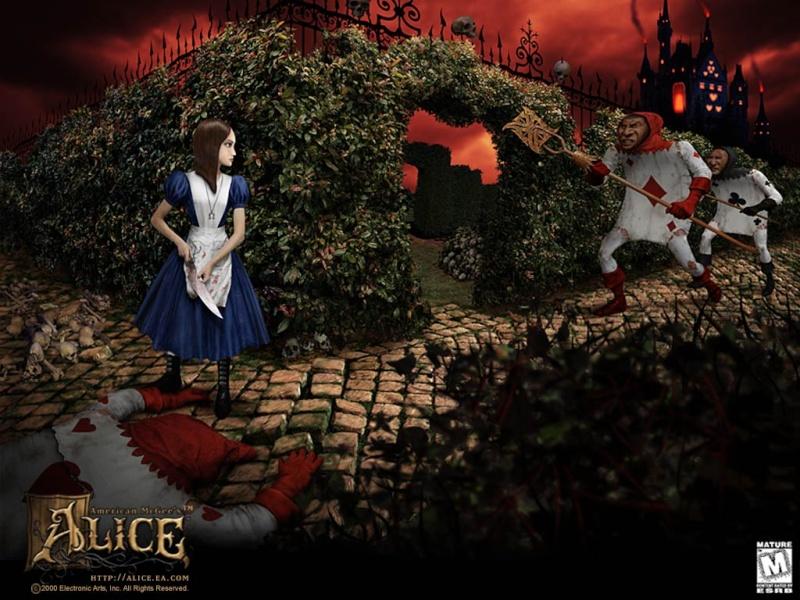 Alice nel Paese delle Meraviglie Wall5_10