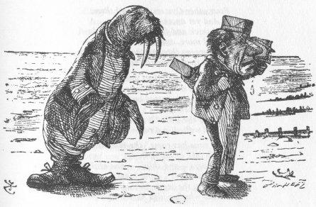 Alice nel Paese delle Meraviglie Walrus10