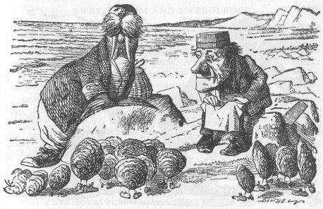 Alice nel Paese delle Meraviglie Walrus11