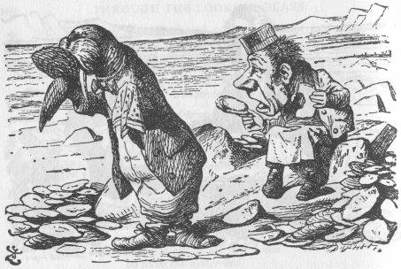 Alice nel Paese delle Meraviglie Walrus12