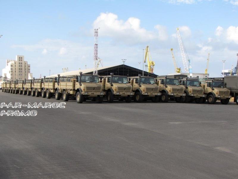 الجيش الملكي المغربي من الالف الى الياء Unimog10