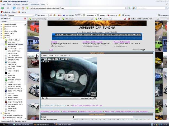 Postez vos vidéos YouTube dans vos messages Image113