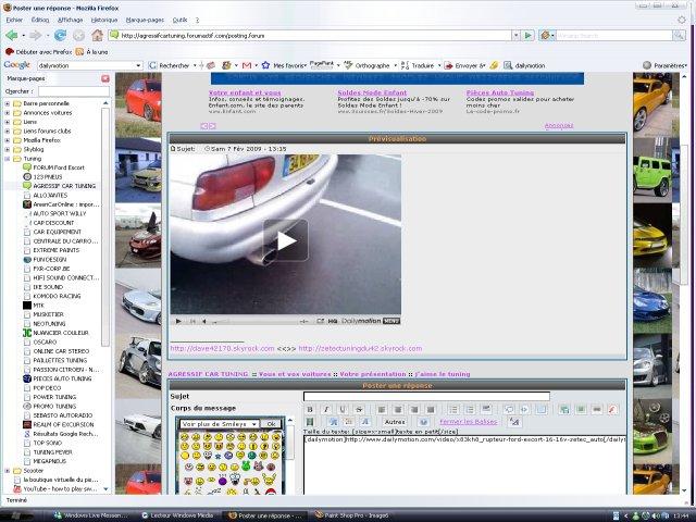Postez vos vidéos Dailymotion dans vos messages Image710