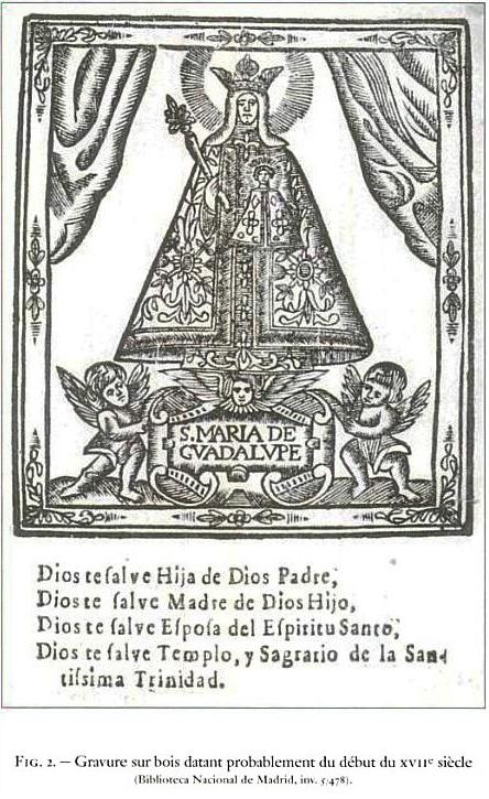 Virgen de Guadalupe / San Francisco de Asís, s. XVI ( R.M. Pe Guadalupe 4) (MAM) Fig_210
