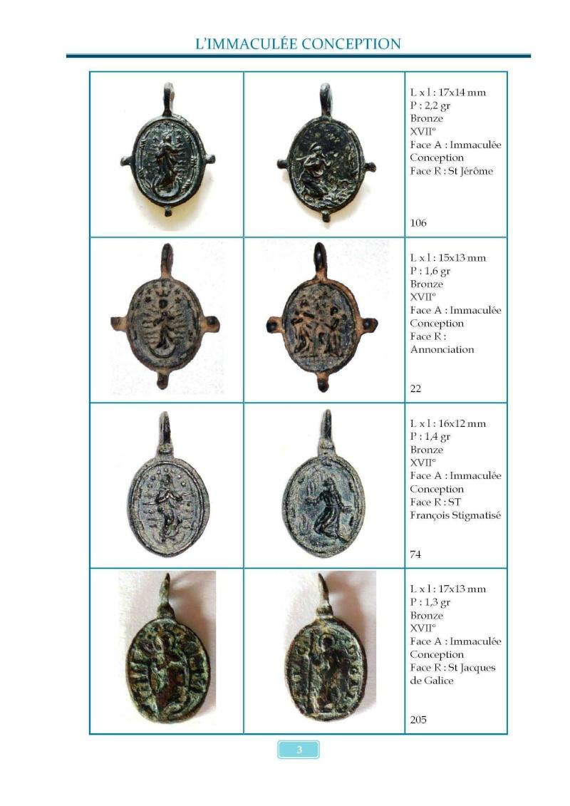 Monotemático medallas Inmaculada Concepción 8 de diciembre Madail12