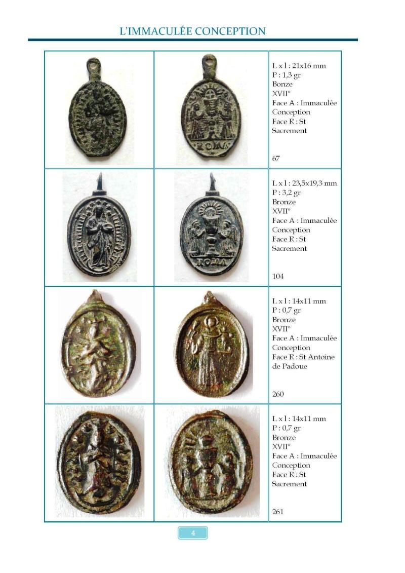 Monotemático medallas Inmaculada Concepción 8 de diciembre Madail13