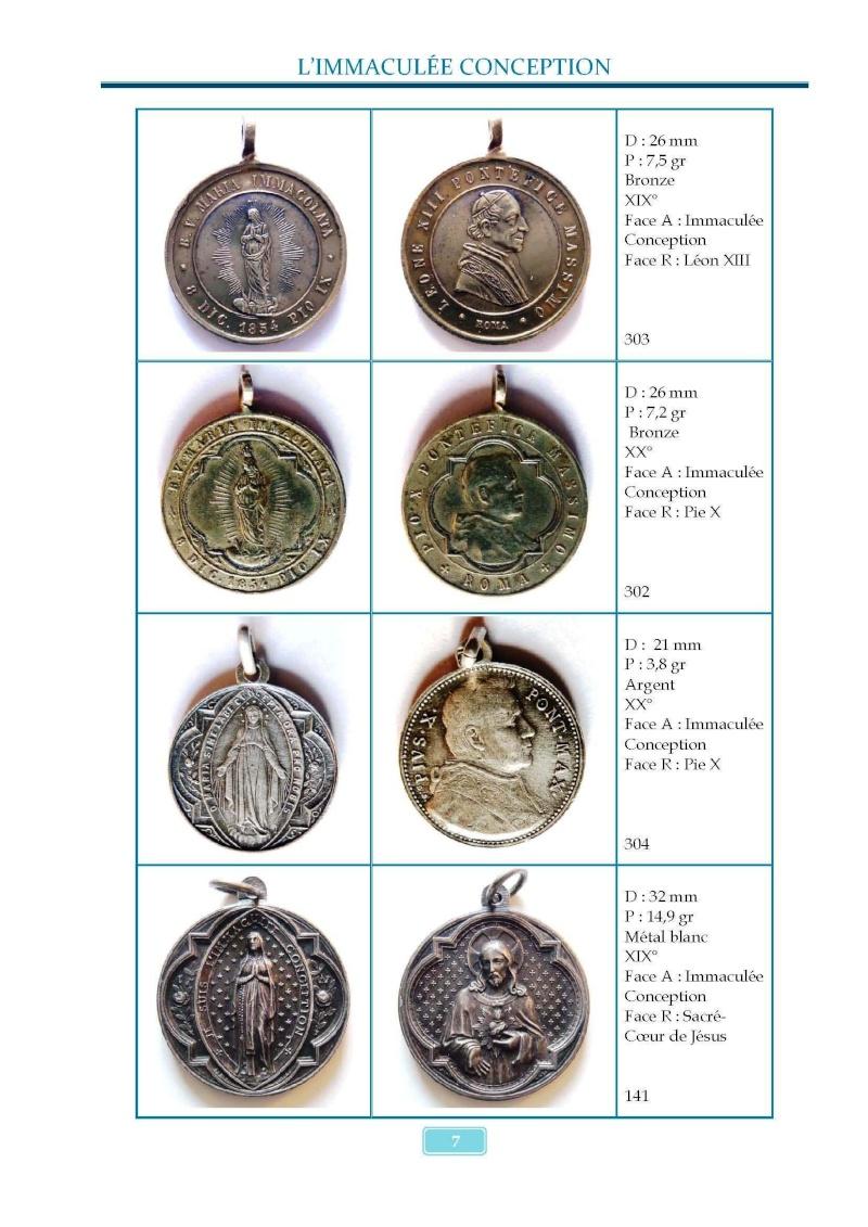 Monotemático medallas Inmaculada Concepción 8 de diciembre Madail16