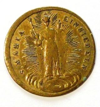 Santa Maria  Einsiedeln / Varias medallas    (R.M. SXIX-O96) (R.M. SXIX-C33) (MAM) Nd_ein12