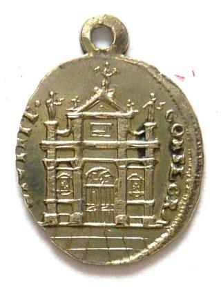 Santa Maria  Einsiedeln / Varias medallas    (R.M. SXIX-O96) (R.M. SXIX-C33) (MAM) Nd_ein15