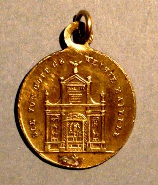 Santa Maria  Einsiedeln / Varias medallas    (R.M. SXIX-O96) (R.M. SXIX-C33) (MAM) Nd_ein17