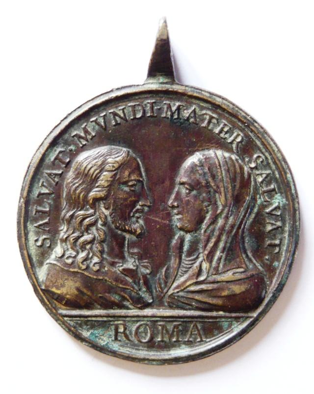 Jesus y Maria / cuatro basilicas romanas  (R.M. SXVIII-C11) Salv_m10