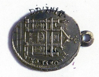 Santa Maria  Einsiedeln / Varias medallas    (R.M. SXIX-O96) (R.M. SXIX-C33) (MAM) Scan-115