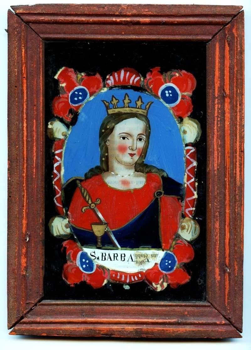 barbara - Medalla Santa Bárbara / Virgen del Pilar (R.M. SXVIII-P53)  (MAM) Ste_ba11