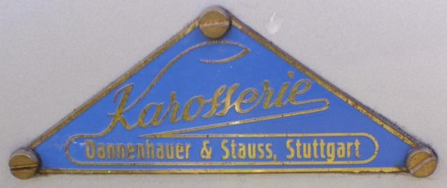 Karosserie Dannenhauer & Stauss Emblem10